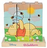 Eichhorn 100003335 - Disney Winnie the Pooh Bilderwürfel-Puzzle