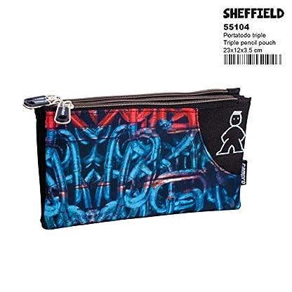 Montichelvo Campro Sheffield – Estuche portatodo Triple (Perona 55104)