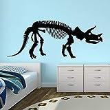HNXDP Precipitò Top Cartoon di moda per parete per scarico fumi Adesivi murali Adesivo De Parede Adesivo da parete dinosauro rosa 143 x 58 cm
