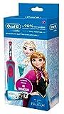 Oral-B Vitality 81633850 Bambino Spazzolino rotante-oscillante Blu, Rosa spazzolino elettrico,...