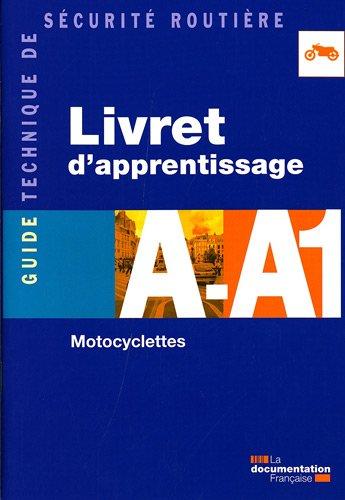 Livret d'apprentissage A-A1 - Motocyclettes