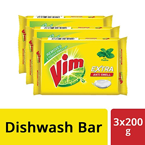Vim Anti Smell Bar – 200 g (Pack of 3) 518PqRXUiwL