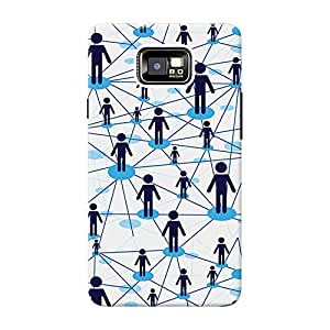 Mobile Back Cover For Samsung I9100 Galaxy S2 (Printed Designer Case)