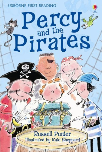 Percy and the Pirates (Usborne First Reading: Level 4) by Russell Punter (2007-04-27)