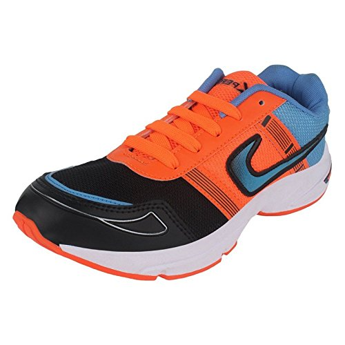 Pert Blue-Orange Men's Sport Shoes-299-399-499-599-500-200-300-400-Running Shoes  available at amazon for Rs.397
