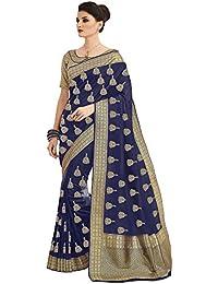 Mrinalika Fashion Women'S Silk Saree With Blouse Piece ( Green_2Tlela1040_Free Size )