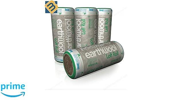 Knauf Earthwool Loft Roll Insulation 8.30m2 per roll 100 mm