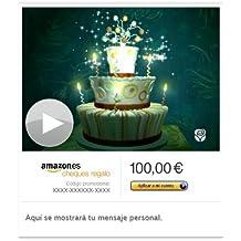 Cheque Regalo de Amazon.es - E-mail - Cumpleaños encantado (animación)