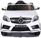 Mercedes Kinderauto GLA 45 AMG/Elektroauto/Spielzeug für Kinder Kinderfahrzeug (weiß)