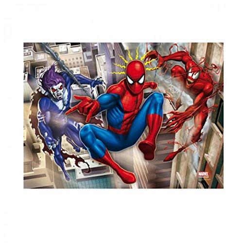 Clementoni 20041 Spiderman 3D Vision Puzzle 104 Teile Brille Action Spaß (Man Brille Spider)