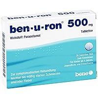 Ben-u-ron 500 mg Tabletten, 20 St. preisvergleich bei billige-tabletten.eu