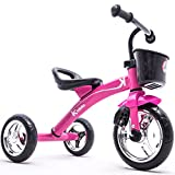 Kiddo Trike for Children 2-5yrs Smart Design Ride On Tricycle - Pink