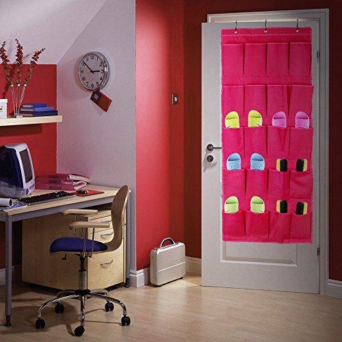 Colleer praktische Ordnungssysteme an der Tür mit 20 Taschen/Türregal, Hängeorganizer, Hängeaufbewahrung, Schuhschränke,...