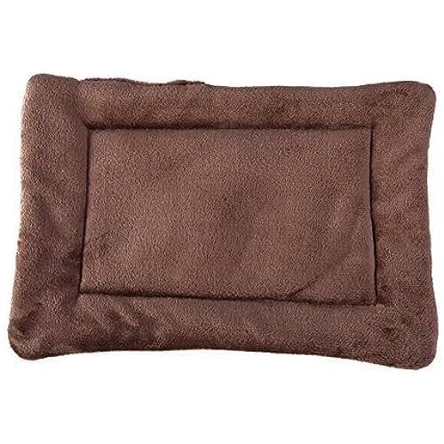 regalos tus mascotas mas kawaii Cama de mascota caliente y suave Alfombra de cojín para perros (L:70*55cm, Marrón)