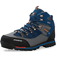 GNEDIAE para Hombre Botas de Senderismo Impermeables de Ocio al Aire Libre  Zapatos de Deporte Zapatillas 25af32aaca4