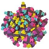 Mini Radiergummis Halloween Eraser Set 60 Stück Tisch Dekoration (Bonbon Candy)