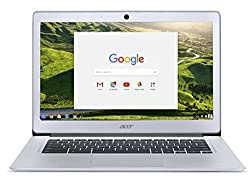Acer Chromebook 14, Aluminum, 14-inch Full HD, Intel Celeron Quad-Core N3160, 4GB LPDDR3, 32GB, Chrome, CB3-431-C5FM NX.GC2AA.007