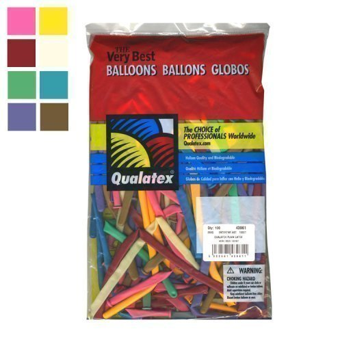 Qualatex Modellierballons Standard Packung a 100 Stk