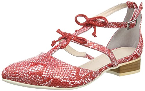 TAPODTS Carly 2, Salomés femme Rouge - Rot (fire/259)