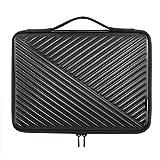 MCHENG Notebook PU Leder Schutzhülle Hülle Tasche 14 Zoll Laptoptasche Wasserdichtem Laptop Sleeve Handtaschen für 14