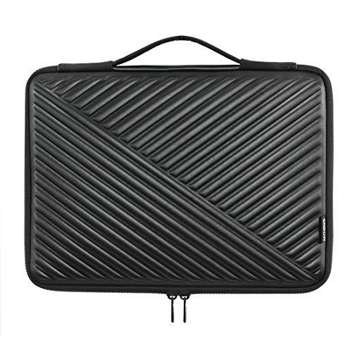 """MCHENG Stoßfeste Wasserdicht Laptoptasche Sleeve 13-13,3 Zoll Notebook Laptophülle Schutzhülle mit Griff für 13\"""" MacBook Pro/MacBook Air / 12,9\"""" iPad Pro/Lenovo/Acer/HP/ASUS/Dell, Schwarz"""