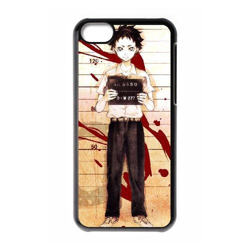 Deadman Wonderland coque iPhone 5C Housse téléphone Noir de couverture de cas coque EBDXJKNBO12713
