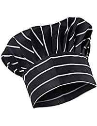 ... divise   Ristorazione   Accessori   Magideal. MagiDeal Unisex Elastico  Cappello Protezione Cappellini Uniforme da Cuoco Chef Cucina e15a859c80b6