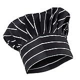 MagiDeal Unisex Elastico Cappello Protezione Cappellini Uniforme da Cuoco Chef Cucina - #17, Taglia unica