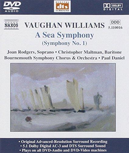 A Sea Symphonie Symph.Nr.1 [DVD de Audio]