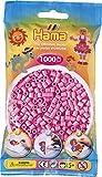 Hama Bügelperlen Beads 1000 Stück in vielen Farben Pastell-Pink