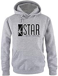S.T.A.R. Laboratories NEU Hoodie Sweatshirt mit Kapuze S M L XL 2XL 3XL