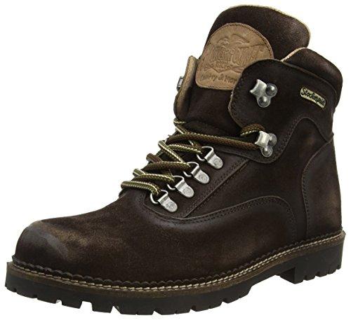 Stockerpoint Schuh 4460, Herren Kurzschaft Stiefel, Braun (Moor gespeckt), 44 EU