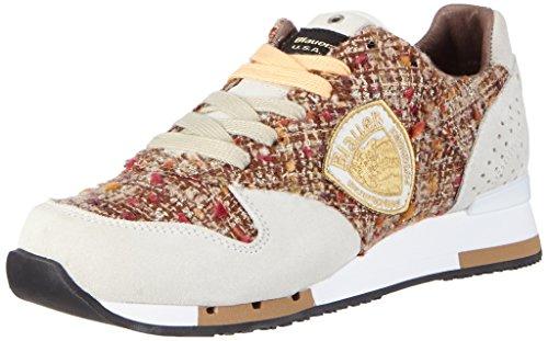 Blauer USAWORUNORI - Sneaker donna , Avorio (avorio (bianco)), 37