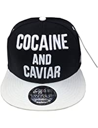 Cocaine   Caviar Snapback Baseball Cap Hip HOP ERA Fitted Flat Peak HAT 54a127571111