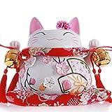 GODRI Fortune Cat Dekoration/Keramik Spardose/Shop Eröffnung/Hochzeit Geburtstag Kreative Geschenk