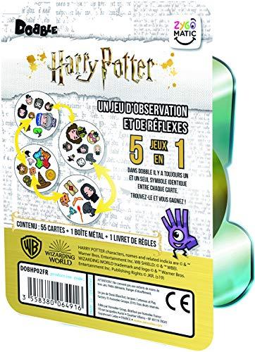 Asmodee Dobble Harry Potter,  DOBHP02FR,  Juego de Ambiente