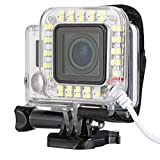 XCSOURCE Unique USB Lens Ring LED Flash Light Shooting LED Flash Light Ring for Sport Camera GoPro Hero 3 3+ 4 Waterproof Case OS246