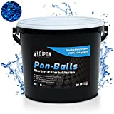 KOIPON Pon-Balls Starterbakterien (1 l) für Teich & Filter als biologische Gelkugeln mit Langer Wirkungsdauer im Gartenteich - Filterbakterien Filterstarter - Teichbakterien Koiteich