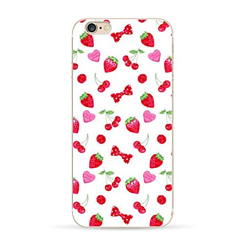 Pacyer® iPhone 7 Custodia Frutta Fresca TPU