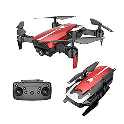 X12 FPV Collapsible Remote Drone With Camera Quadcopter With Adjustable Wide-Angle 720P HD WIFI Camera - Follow Me To Maintain A 360 Degree Rotation Without Head Mode One-Click Return To Play