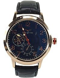 Polo House USA Men's Analog Multi Dial Watch - PhwGeg14blk