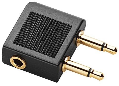 Jabra Vega Noise Cancelling Over-Ear-Kopfhörer (Active Noise Cancellation, Stereo-Headset, 3,5-mm-Audioanschluss, Freisprechfunktion, inkl. Audioadapter für Flugzeugsitz) - 7
