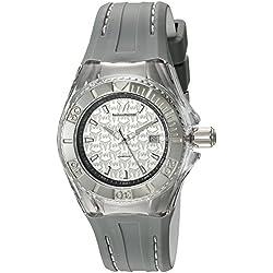 TechnoMarine TM-115157 - Reloj de cuarzo para mujeres, color gris