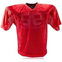 Full Force simple camiseta de entrenamiento de fútbol americano para adultos, todo el año,