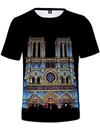 532849032 XXGG La Camiseta Francesa de Notre Dame París Francia conmemora la Camiseta