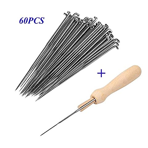 lzn Felting Needles Kit Set 60Pcs 79/86/91mm Felting Needles and