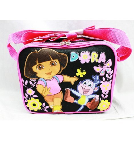 Lunch Bag - Dora the Explorer - Butterfly Black by Dora the Explorer - Dora Lunch Bag