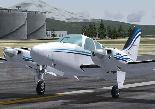 Flight 1 Beech Baron 58 Add-On for FS 2004 [UK Import]