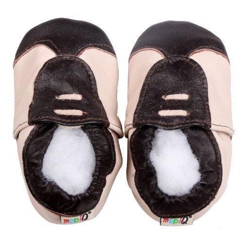 FREE FISHER Chaussures souples bebe chaud chaussons en cuir doux enfant unisex Guitare