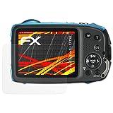 atFoliX Folie für Fujifilm FinePix XP130 Displayschutzfolie - 3 x FX-Antireflex-HD hochauflösende entspiegelnde Schutzfolie